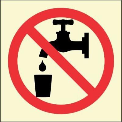 BRANDSHELL Do Not Drink Emergency Sign