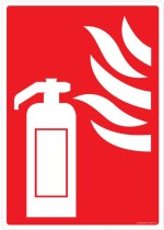 Safety Sign Store Safety Sign Store Fire Extinguisher Graphic Emergency Sign