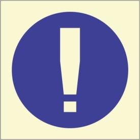 BRANDSHELL Keep Clear Emergency Sign