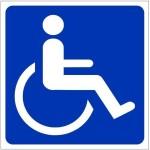 Clickforsign Handicapped Emergency Sign
