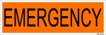 SignageShop Sign Emergency Sign