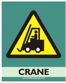 Dishasignage Cren Emergency Sign