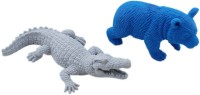 Tootpado Super Clean Animal Shape Shaped Big Erasers (Set Of 1, Multicolor)