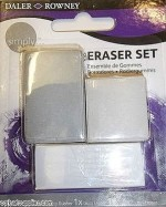 Daler Rowney Erasers Daler Rowney Simply Square Shaped Medium Erasers