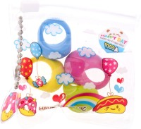 Birthdaygiftwala K11 Medium Erasers (Set Of 4)