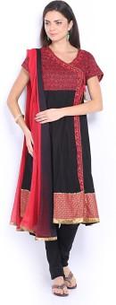 Melange By Lifestyle Women's Kurta And Churidar Set