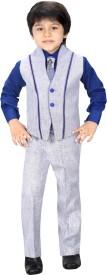 Jk Baby Boy's Blazer, Shirt and Trouser Set