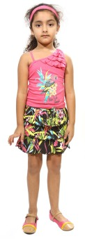 Bio Kid Girl's Top And Skirt Set