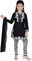 Jazzup Girl's Salwar and Kurta Set