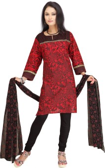 Shes Women's Churidar, Kurta & Dupatta Set - ETHEYCFP5SEZ4GSB