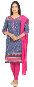 Rama Women's, Girl's Kurti, Legging And Dupatta Set - ETHEF6RZH7NFRHG6