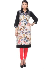 Quenell Casual Printed Girl's, Women's Kurti
