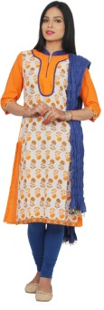 Rama Women's, Girl's Kurti, Legging And Dupatta Set - ETHEF6RQ8YDGVFHH