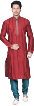 Fuzion Couture Men's Kurta & Pyjama Set - ETHE2X76XD2ASPNZ