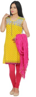 Rama Women's, Girl's Kurti, Legging And Dupatta Set - ETHEF6RQMTGHA9A3
