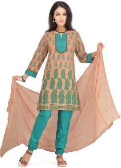 Shes Women's Churidar, Kurta & Dupatta Set
