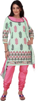 Shes Women's Churidar, Kurta & Dupatta Set - ETHEYCFPHDCNE844