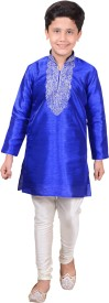 MFWN Designerwear Boy's Kurta and Pyjama Set