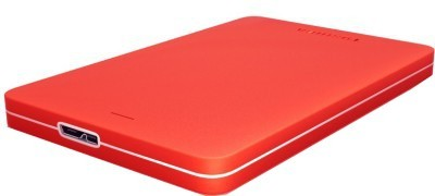 Toshiba Canvio Alumy 2 TB Wired HDD  External Hard Drive (Red)