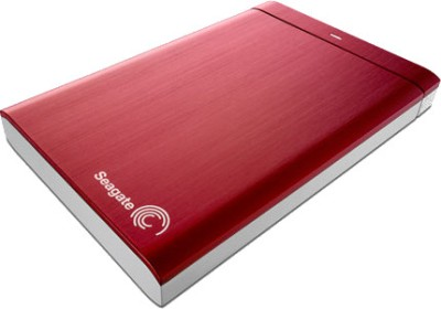 Red Color Seagate Backup Plus 1 TB External Hard Disk - Holi Special