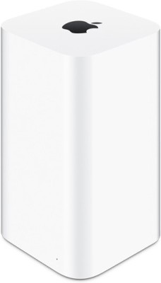Apple 3 TB Time Capsule 3 TB External Hard Disk Drive (White)