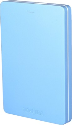 Toshiba Canvio Alumy 1 TB  External Hard Drive (Blue)