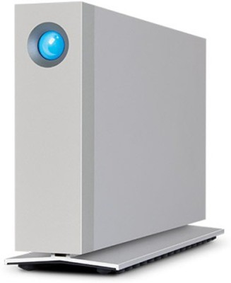 LaCie 4 TB Wired  External Hard Drive (Silver, External Power Required)