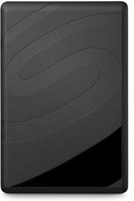 Seagate Backup Plus Slim 1 TB Wired  External Hard Drive with  200 GB  Cloud Storage (Silver, Mobile Backup Enabled)
