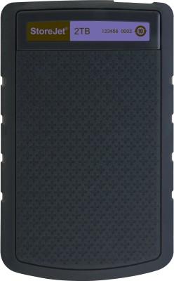 Transcend StoreJet 25H3P USB 3.0 2TB External Hard Disk
