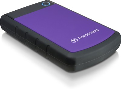 Transcend 2TB Portable 2 TB  External Hard Drive (Purple)