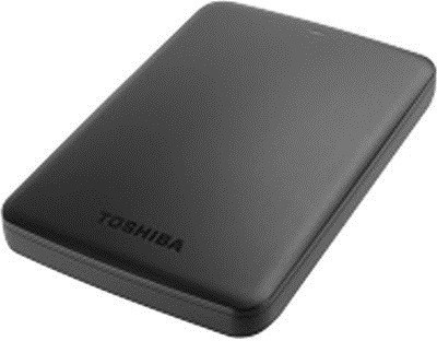 Toshiba 1 TB Wired HDD  External Hard Drive (Black)