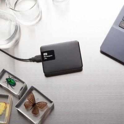 Western Digital 2 TB Wired  External Hard Drive (Black)
