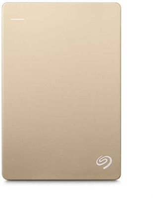 Seagate 2 TB Wired  External Hard Drive (Gold)