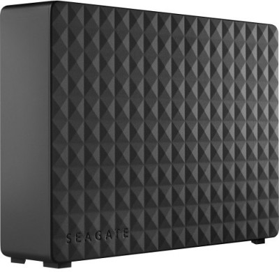Seagate 4 TB Wired External Hard Disk Drive (Black)