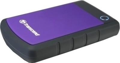 Buy Transcend StoreJet 25H2P 2.5 inch 1 TB External Hard Disk: External Hard Drive
