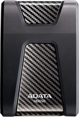 Adata DashDrive Durable 1 TB  External Hard Drive (Black)