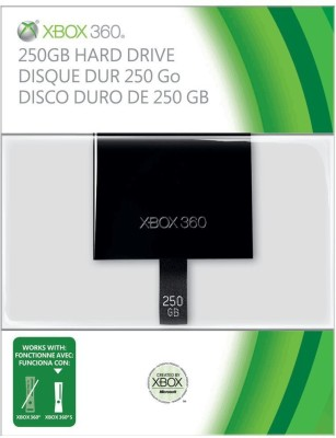 Microsoft 250 GB Wired  External Hard Drive (Black)