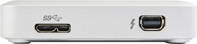 Transcend 2 TB Wired  External Hard Drive (White)