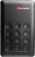 Portronics Secure-D 500$$GB Wired  External Hard Drive