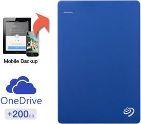 Seagate Backup Plus Slim Portable USB 3.0 2TB External Hard Disk