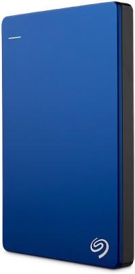 Seagate Backup Plus Slim 1 TB Wired  External Hard Drive with  200 GB  Cloud Storage (Blue, Mobile Backup Enabled)