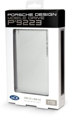 LaCie 2 TB Wired HDD  External Hard Drive (Silver, External Power Required)
