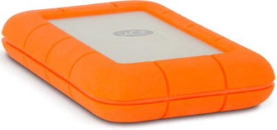 LaCie 2 TB Wired External Hard Disk Drive (Orange, Silver, External Power Required)