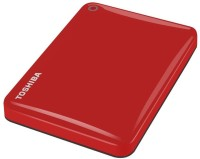 Toshiba Canvio Connect II 1TB (RED) 1$$TB Wired  External Hard Drive (Red, External Power Required)