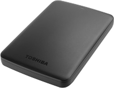 Toshiba Canvio Basic 1 TB External Hard Disk (Black)