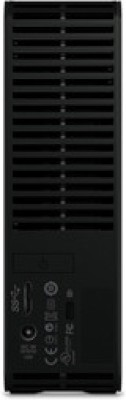 WD 3 TB Wired HDD  External Hard Drive (Black, External Power Required)