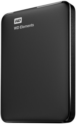 WD Elements 2.5 inch 500 GB External Hard Drive (Black)