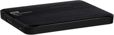 WD Passport Ultra 2.5 inch 2 TB External Hard Drive (Black)