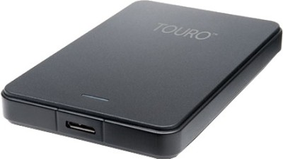 HGST Touro 2.5 inch 1 TB External Hard Disk (Black)