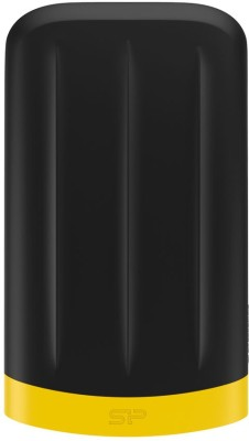 Silicon Power 4 TB Wired  External Hard Drive (Black, External Power Required)